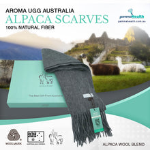 Load image into Gallery viewer, Aroma Australia Alpaca Scarf Chai