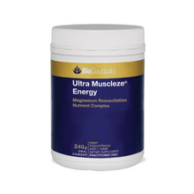 Load image into Gallery viewer, Bioceuticals IUltra Muscleze® Energy Magnesium Resuscitation Nutrient Complex 240g