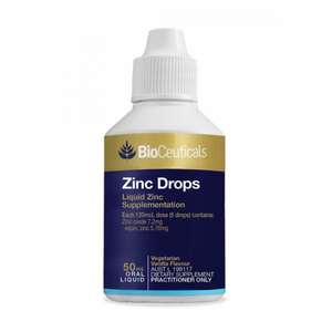 Bioceuticals Zinc Drops 50ml