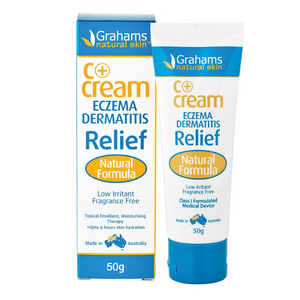 Copy of Graham's Natural C+ Eczema & Dermatitis Cream 50g
