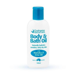 Graham's Natural Body & Bath Oil 100ml