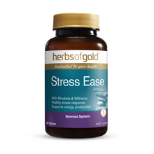 Load image into Gallery viewer, Herbs of Gold Stress Ease 60 Tablets