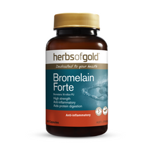 Load image into Gallery viewer, Herbs of Gold Bromelain Forte 60 Capsules