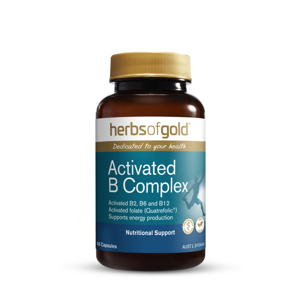 Herbs of Gold Activated B Complex 60 Capsules
