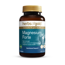 Load image into Gallery viewer, Herbs of Gold Magnesium Forte 60 Tablets