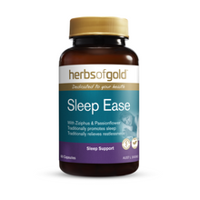 Load image into Gallery viewer, Herbs of Gold Sleep Ease 30 Capsules