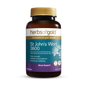 Herbs of Gold St John's Wort 3600 30 Tablets