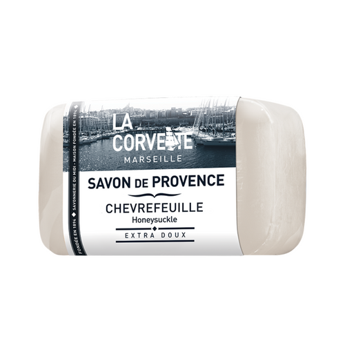 La Corvette Marseille Provence Soap  with Honeysuckle 100g
