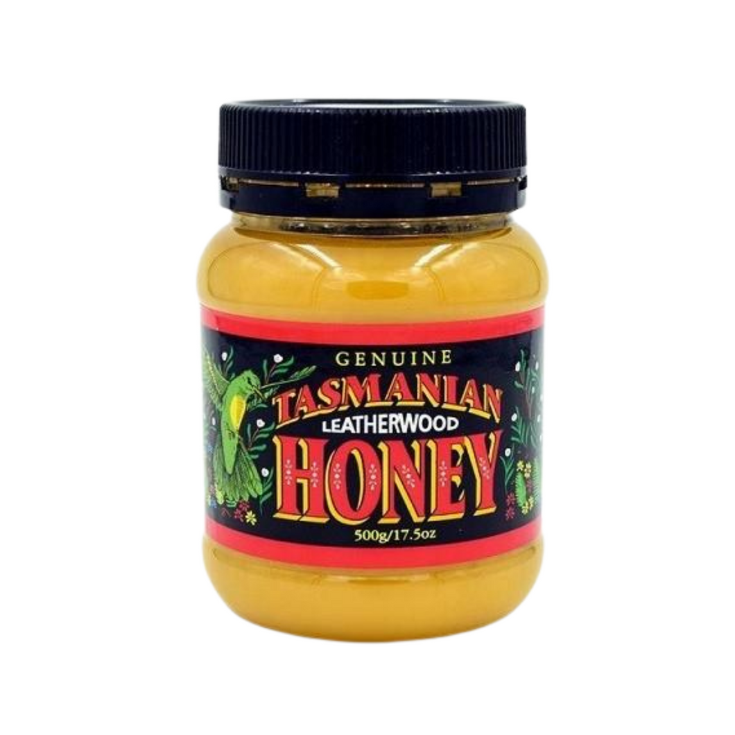 Tasmanian Leatherwood Honey 500g Jar