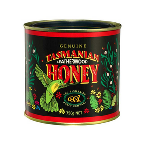 Tasmanian Leatherwood Honey 750g Tin