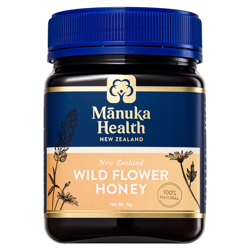 Manuka Health Wild Flower Honey 1kg