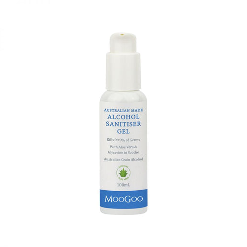 MooGoo Skincare Alcohol Sanitiser Gel 100ml