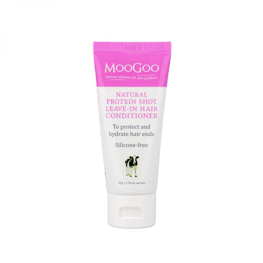 MooGoo Skincare Protein Shot Leave-in Hair Conditioner 50g