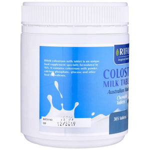 Rifold Colostrum Milk Tablet 1000mg 365 Tablets