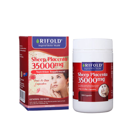 Rifold sheep placenta 35000mg 100 capsules