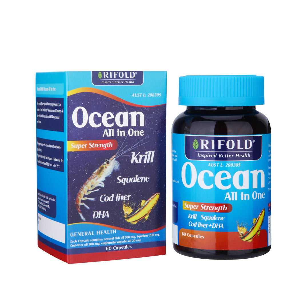 Rifold Ocean All in One 60 Capsules