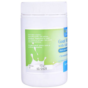 Rifold Goat Milk with Calcium 300 Tablets
