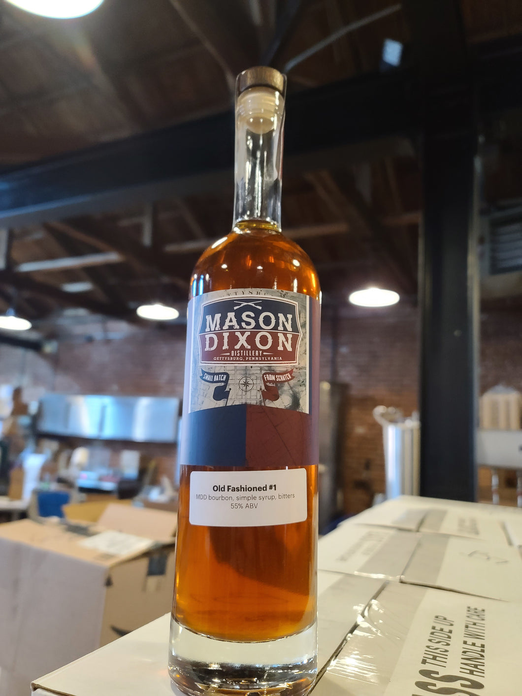 Bottled Old Fashioned - Mason Dixon Distillery