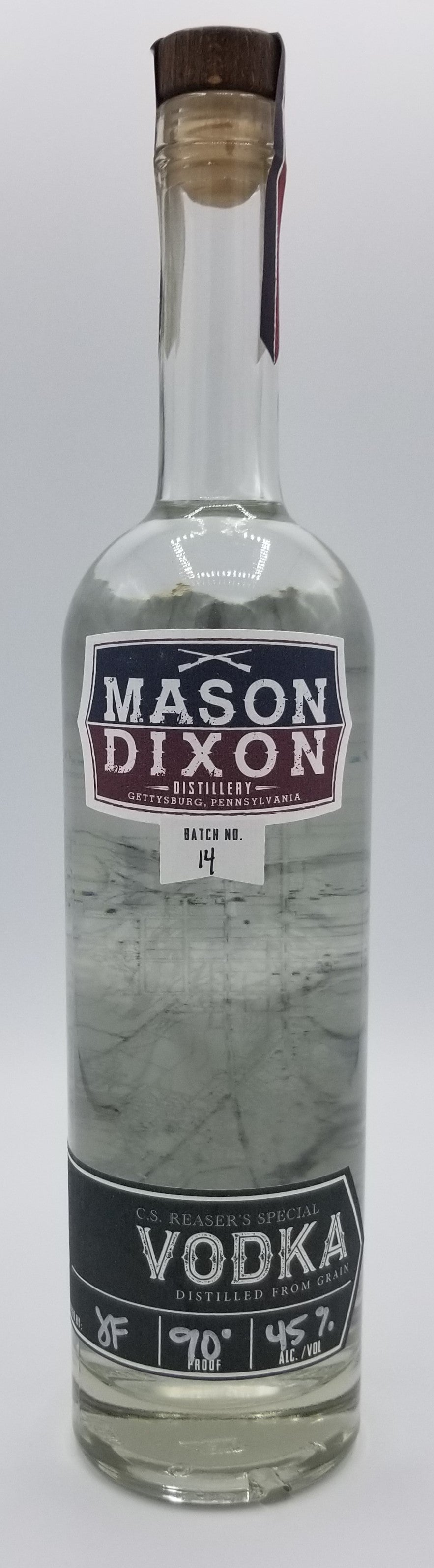 MDD Vodka - Mason Dixon Distillery