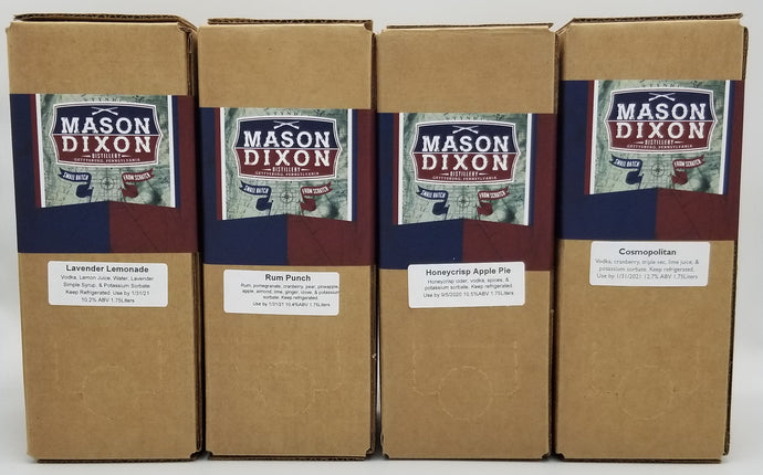 Variety Pack of Boxtails (4 pack) - Mason Dixon Distillery
