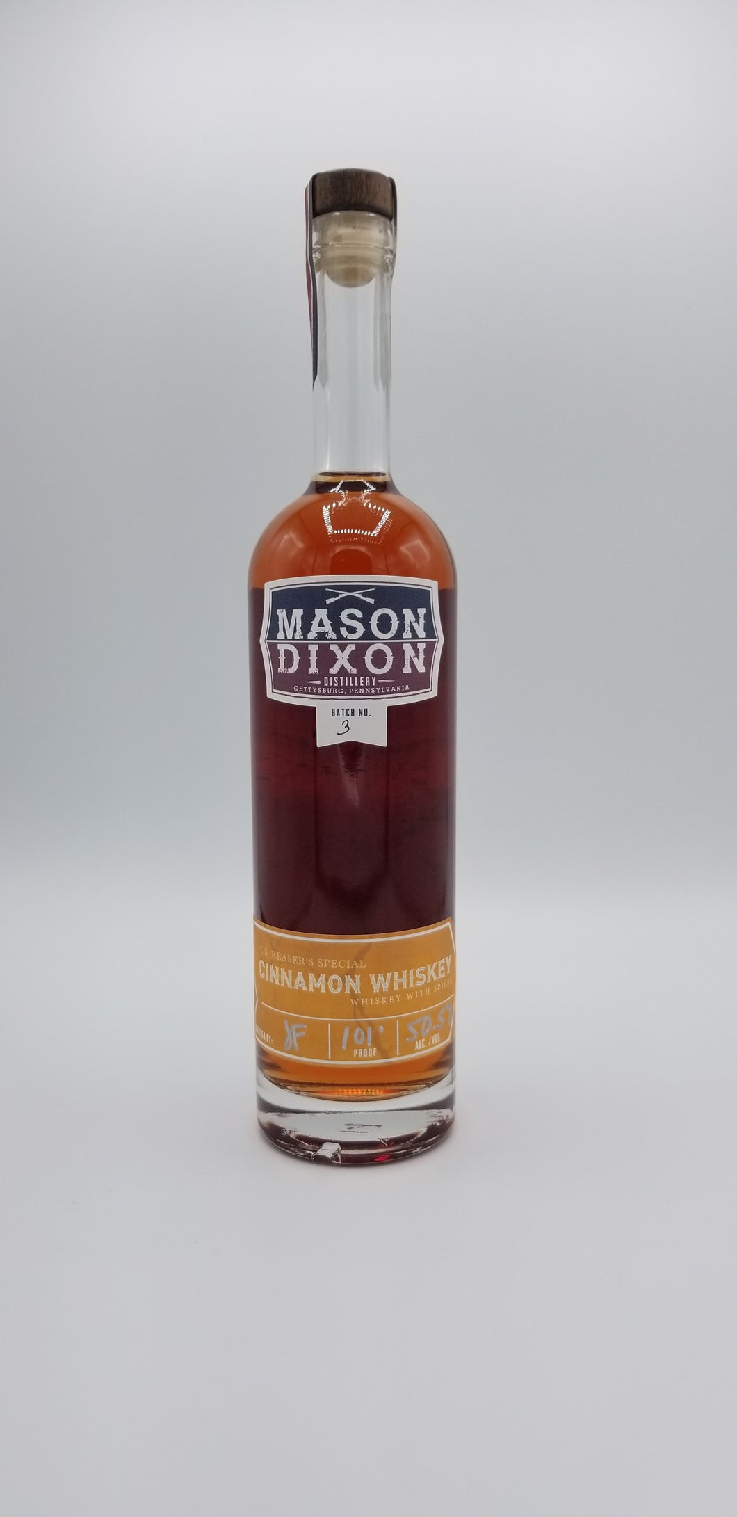 MDD Cinnamon Whiskey - Mason Dixon Distillery