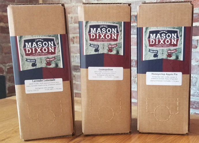 Variety Pack of Boxtails (Tri Pack) - Mason Dixon Distillery