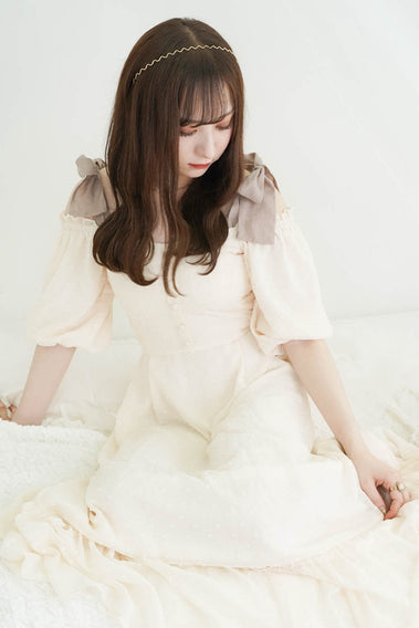 Fairy tale 3way onepiece / white