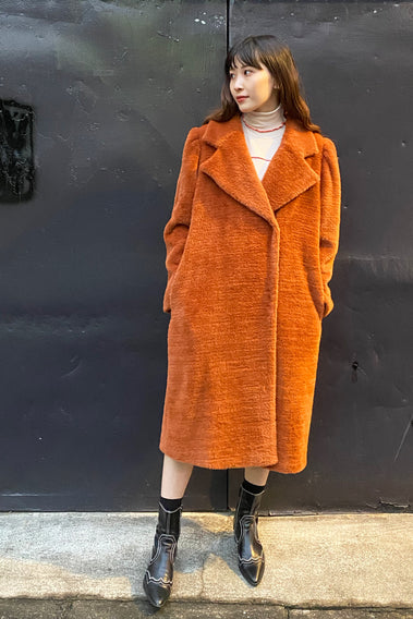 City Romance Long Coat / brown