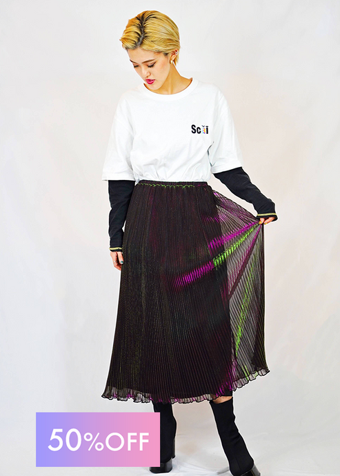 AURORA PLEATS SKIRT