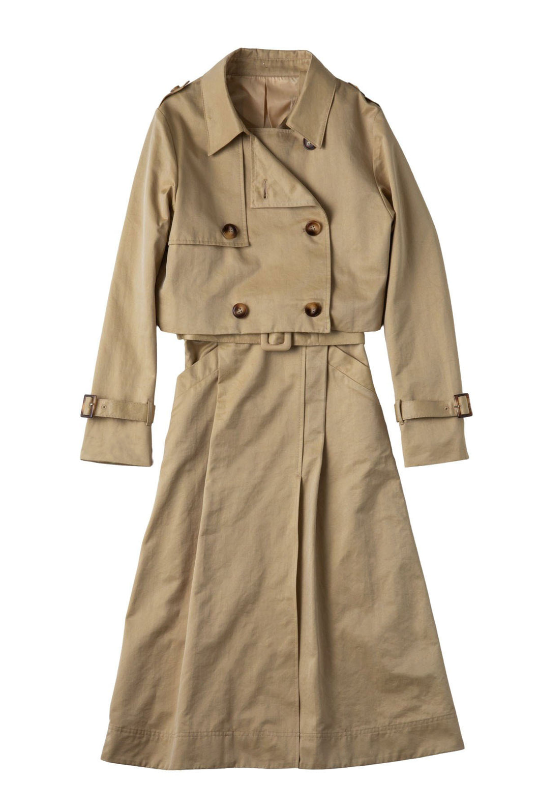 Trench setup dress