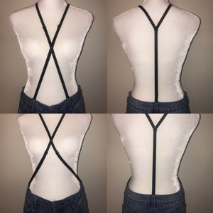 Butt Lifting Smoothing Women's Undergarment Suspenders for Pants with Belt Loops.