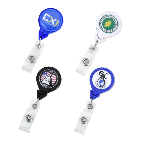 "Picture of Badge Holder-Twist Free with 35"" Retractable Cord"