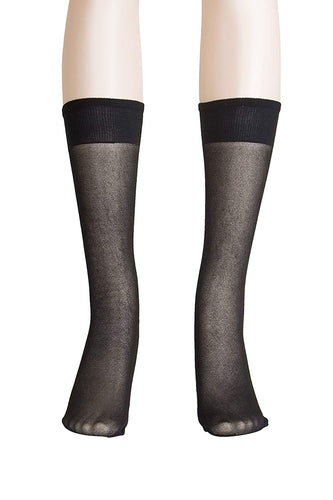 Lissele 'Light' Support Women's Plus Size Knee High 3 Pack
