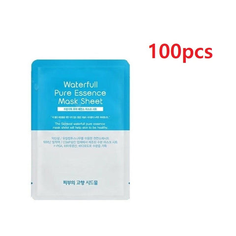 [Sidmool] Waterfull Pure Essence Mask Sheet Pack 22g 100pcs k-beauty - BEST BEAUTIP
