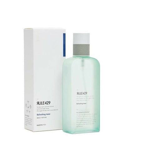 twinkidea - [HAZZYS MEN RULE429] Refreshing Toner 200ml(6.76oz) K-beauty Men's Cosmetics - RULE429 - Skin Care (M)