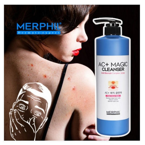[MERPHIL] AC + Magic Cleanser  Acne Body Wash for Adults 500gl/17.6oz K-beauty - BEST BEAUTIP