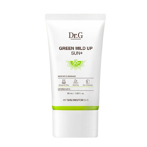 [Dr.G] Green Mild Up Sun+ Screen 50ml /1.69oz SPF50+ PA++++ K-beauty - BEST BEAUTIP
