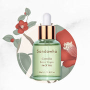 [SanDaWha] Extra Virgin Camellia Face Oil 30ml(1oz) K-beauty - BEST BEAUTIP