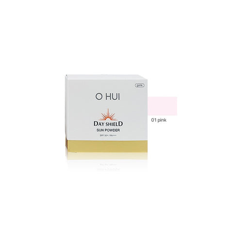 [O HUI] Day Shield Sun Powder SPF50+ PA+++ 20g 01 Pink