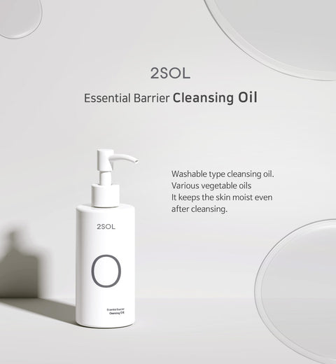 [2SOL] Essential Barrier Cleansing Oil 150ml / 5oz K-beauty