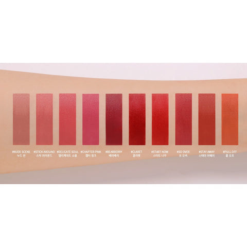 [3CE] Blurring Liquid Lip 5.5g 10 colors K-beauty - BEST BEAUTIP