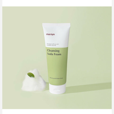 [Manyo Factory] Deep Pore Cleansing Soda Foam 150ml/5oz K-beauty organic extract - BEST BEAUTIP