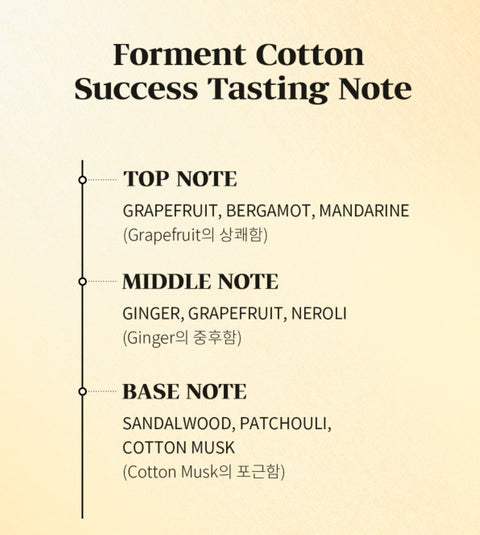 [Forment] Signature Perfume Cotton Series For Men (Hug/Kiss/Success) 50ml (FREE FEDEX) - BEST BEAUTIP