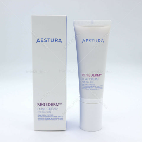 [AESTURA] Regederm Dual Cream for Oily Skin 40ml K-beauty after dermatology care - BEST BEAUTIP