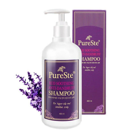 [Sidmool] Pureste Eco Soothing Anti-Dandruff Shampoo 400g / 14oz K-beauty - BEST BEAUTIP