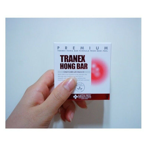 [MEDI-PEEL] TRANEX HONG BAR 100g/3.52oz Daliy Care with Vitamin K K-beauty - BEST BEAUTIP