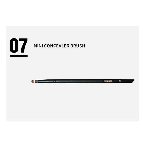 [SOO ADOR] X RISABAE Mini Concealer Brush No.07 1EA Black Edition YouTube Hit Item SOOADOR - BEST BEAUTIP