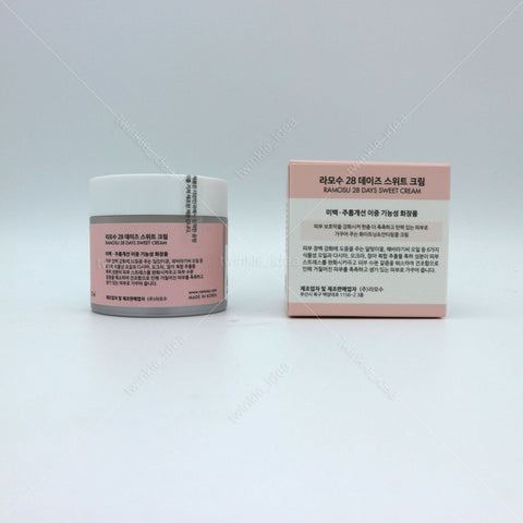 [Ramosu] 28 Days Sweet Cream 50ml(1.69oz) K-beauty Whitening & Anti-wrinkle - BEST BEAUTIP