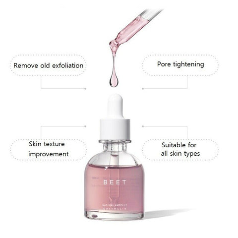 twinkidea - [Graymelin] Beet Ampoule 30ml / 1oz with AHA K-beauty Low Stimulation Peeling - Graymelin - Ampoules