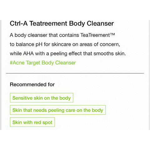 [Dr.Jart+] Ctrl-A Treatreement Body Cleanser Nettoyany Pour Corps 200ml K-beauty - BEST BEAUTIP